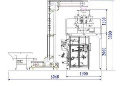 大型散装物称重包装机设计原理